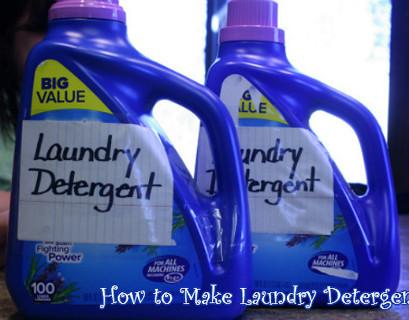 Home Made Laundry Detergent Recipe +4 bonus recipes
