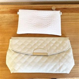 Lot of 2 Brand New Clutch Crossbody Purses Bags