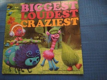 BIGGEST, LOUDEST, CRAZIEST, TROLL 16 PIECE PUZZLE #4