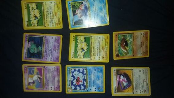 Pokemon cards 1st edition and promos