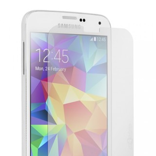 NEW SAMSUNG GALAXY S5 PHONE Screen Protector Cover FREE GIFT