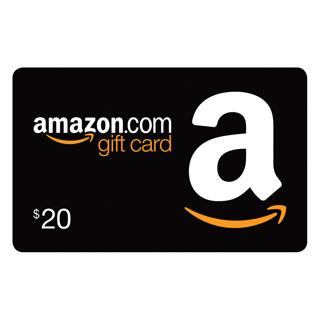 $20 Amazon.com Gift Card