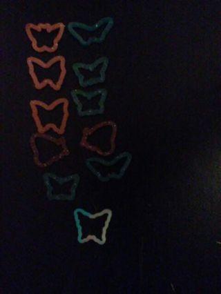*Original* Silly Band Rings ~Butterflies~
