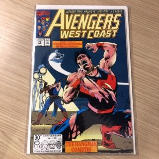 avengers west coast #78  marvel  1992