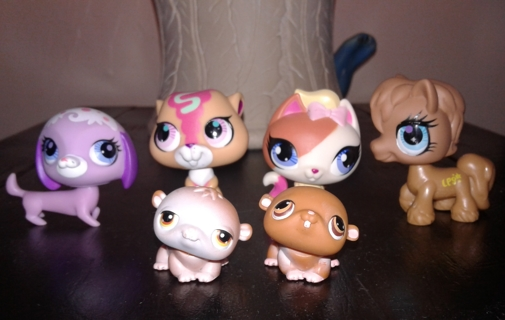 6 Littlest Pet Shops ❤Will be Adding More Pets!