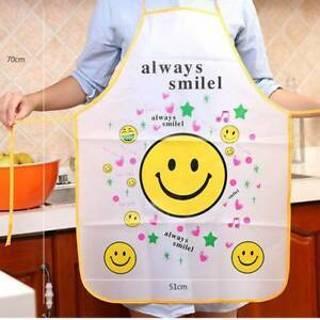 Women Cute Cartoon Waterproof Apron Kitchen Restaurant Cooking Bib Apron Vest