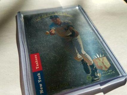 1993 Upper Deck Derek Jeter SP Foil Rookie Card. New York Yankees.