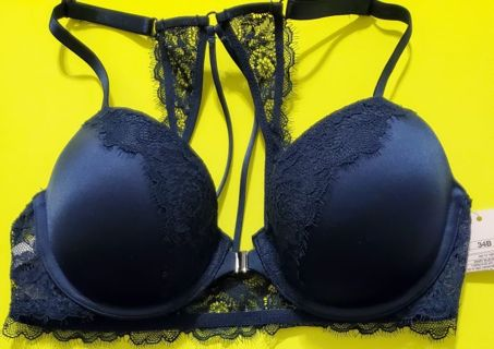 Brand New Royal Blue Sexy Lace Bra Size 34B from Target Dept Store Retail $60 Start bid 0.01