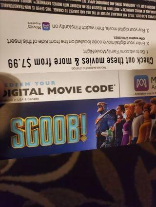 New scoob movie