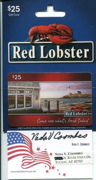 Free red lobster olive garden longhorn steakhouse - Olive garden gift card at red lobster ...