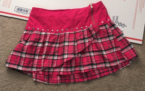 Justice Girls' Skirt, Size 18