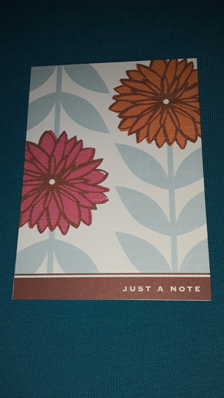Notecard - Just A Note
