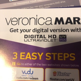 Veronica Mars digital HD