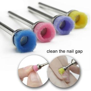 Ceramic Nail Drill Brush 3 32 Machine Files Nail Art Drill Bit Cleaning Tool