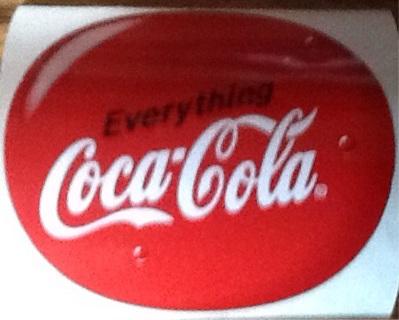 free coca cola stickers other collectibles listia com