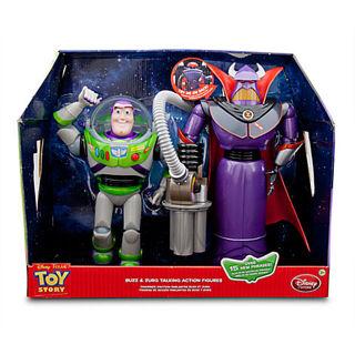 free disney store toy story 3 emperor zurg buzz lightyear talking