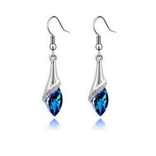 1 Pair Crystal Rhinestone Drop Dangle Earrings