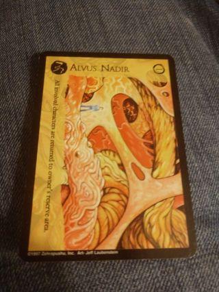 Imajica Card - Alvus Nadir