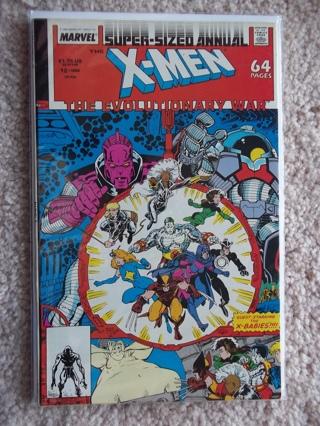 X-MEN #12 VF+ 1988  SUPER-SIZED  (n)