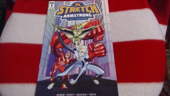 New Stretch Armstrong +the Flex Fighters Comic Book