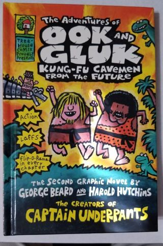 The Adventures of OOK and GLUK Kung-Fu Cavemen From The Future