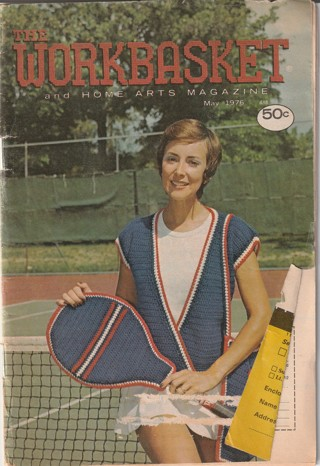 Workbasket Craft Book: Crochet, Knitting, Sewing, Patterns, How To: May 1976
