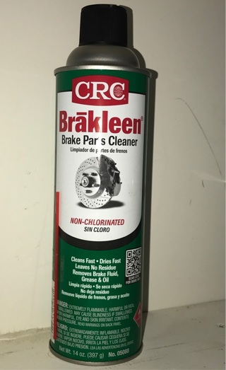 New breaks parts cleaner