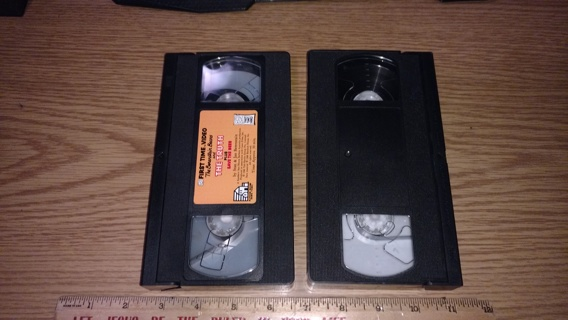 VHS The Bererstien Bears &  The Truth Plus Blank Tape