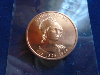 BU! 2007 ADAMS FIRST LADY COLLECTION BRONZE COIN BU!