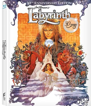 NEW Blu-ray Movie Labyrinth 30th Anniversary Edition, Anniversary Blu-ray FREE SHIPPING
