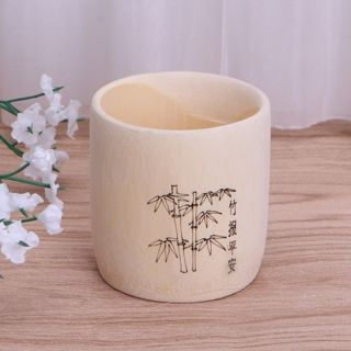 Retro Bamboo Cup Beer Mug Tea Mug Milk Coffee Cup Travel Fashion 6cmx5.5cm