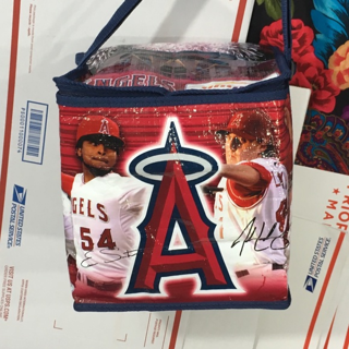 ANAHEIM ANGELS BASEBALL COOLER BAG INSULATED FREE SHIPPING