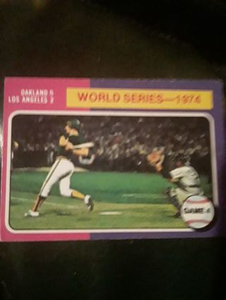 World Series 1974