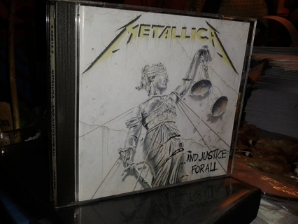 Metallica CD - And Justice For All
