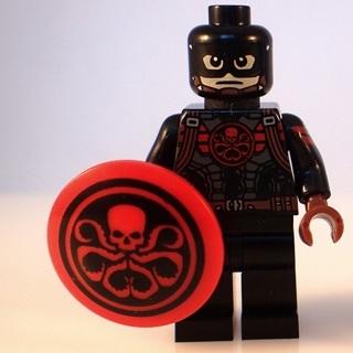 New Hydra Captain Super Heroes Minifigure Building Toys Custom Lego