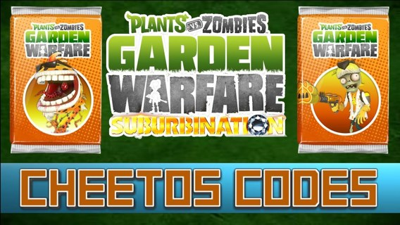 Free 2 Plants Vs Zombies Garden Warfare Cheetos Code Video Game Prepaid Cards Codes