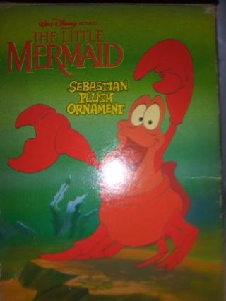 Sebastian ornament from the little mermaid