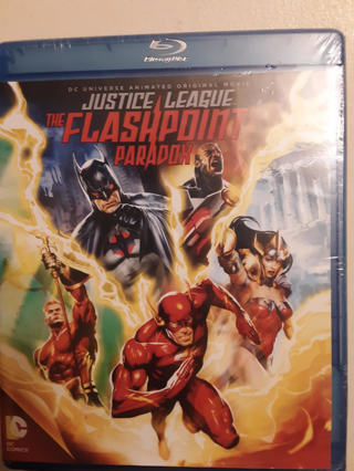 NEW DC Justice League The Flashpoint Paradox BLU-RAY