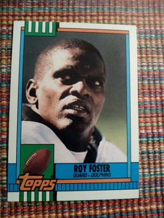Topps #327 Roy Foster
