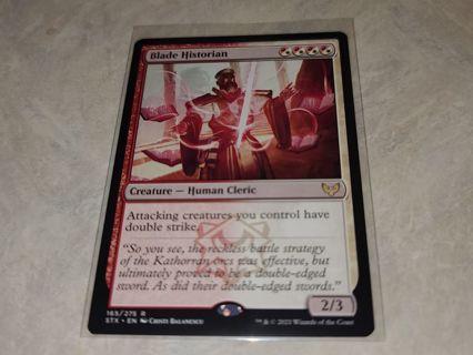Magic the gathering mtg Blade Historian rare card Strixhaven