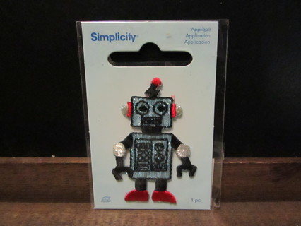 Embroidered Robot Applique