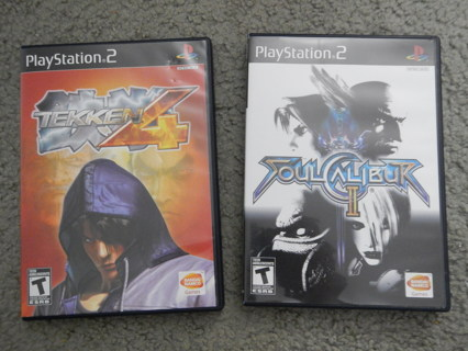 Free Ps2 Soul Calibur Ii Tekken 4 Playstation 2