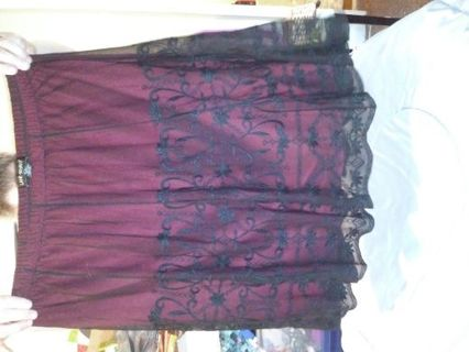 Women lane bryant skirt size 22/24