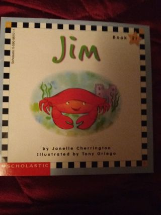 Used Children's Scholastic Book Jim