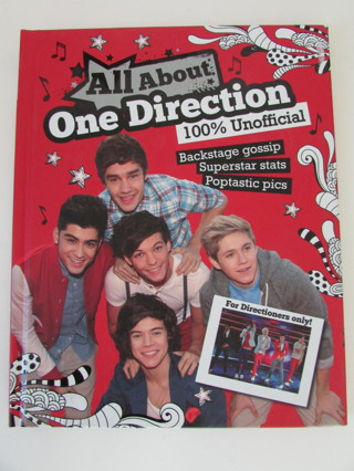 NEW- ONE DIRECTION COLLECTORS BOOK