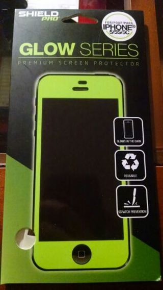 Brand new glow in the dark screen protector for iPhone 5/5s/5c!!!