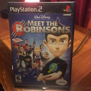 Meet  the Robinsons PlayStation 2 Game
