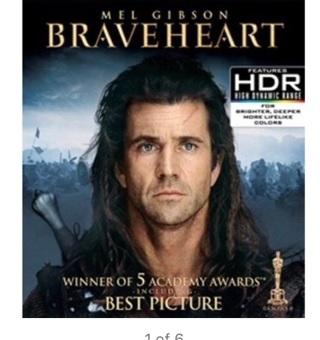 Braveheart, Apollo 13, Gladiator & Saving Private Ryan • Instawatch  HDX