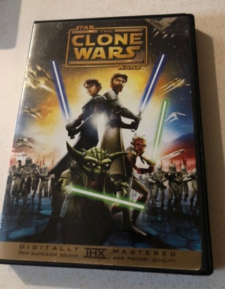 "Star Wars ""The Clone Wars DVD"