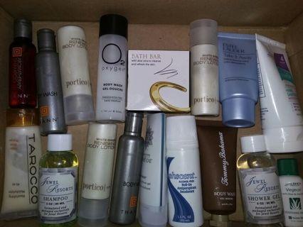 HUGE Bath & Body Shampoo Conditioner Lotion Lot Paul Mitchell B&B Works Tarocco & More 100+ Items